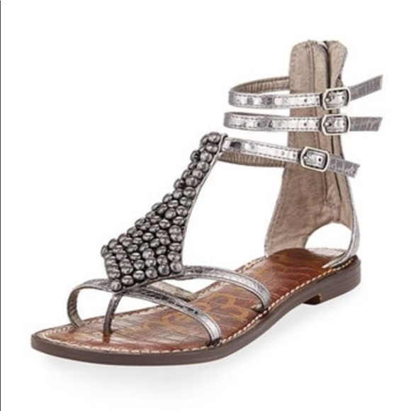 06877c9d119827 Sam Edelman Shoes - Sam Edelman Ginger Sandal Bronze Metallic 9.5